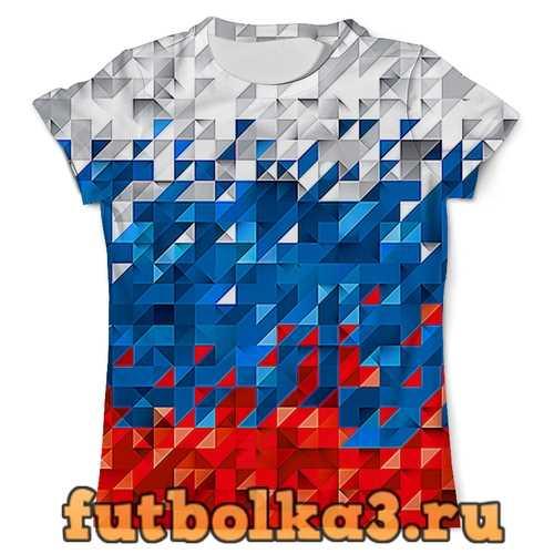 Футболка Flag RF PIXEL мужская