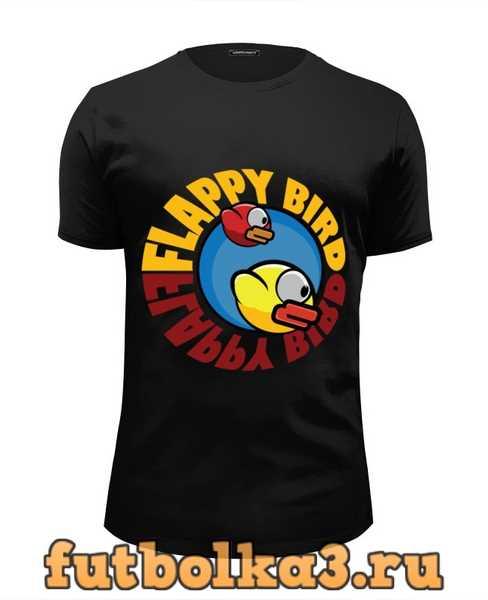 Футболка Flappy bird мужская