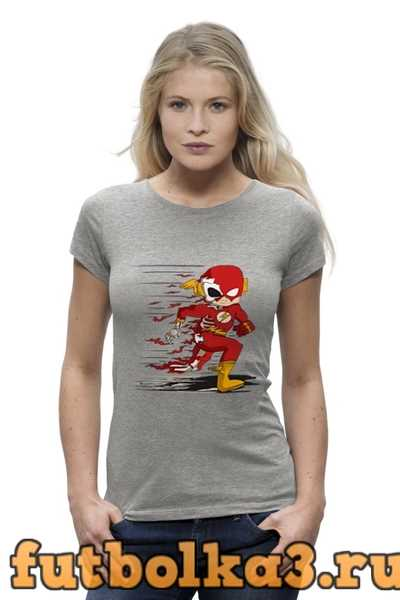 Футболка Flash Dead женская