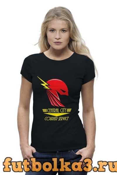 Футболка Flash (Молния) женская