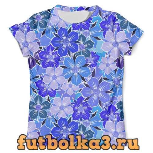 Футболка Floral Design мужская
