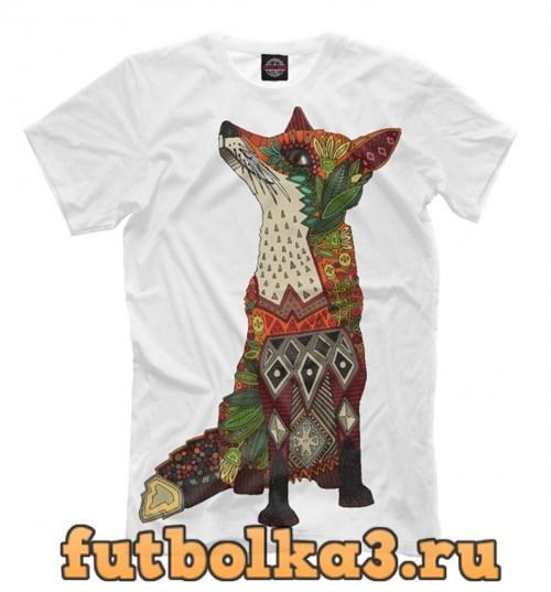Футболка Floral fox мужская