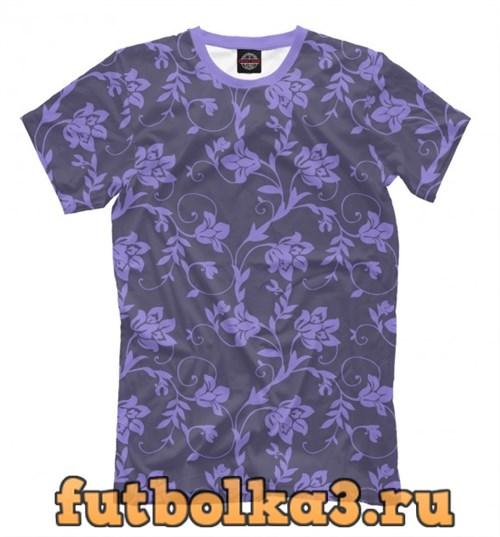Футболка Floral (Purple) мужская