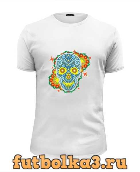 Футболка Floral Skull мужская
