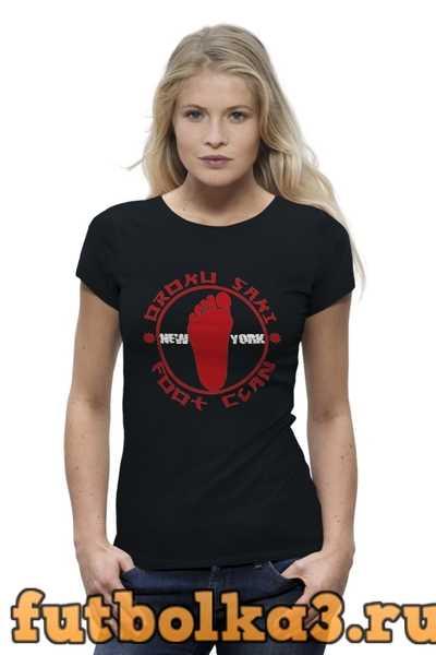 Футболка Foot Clan женская