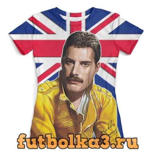 Футболка Freddie Mercury женская