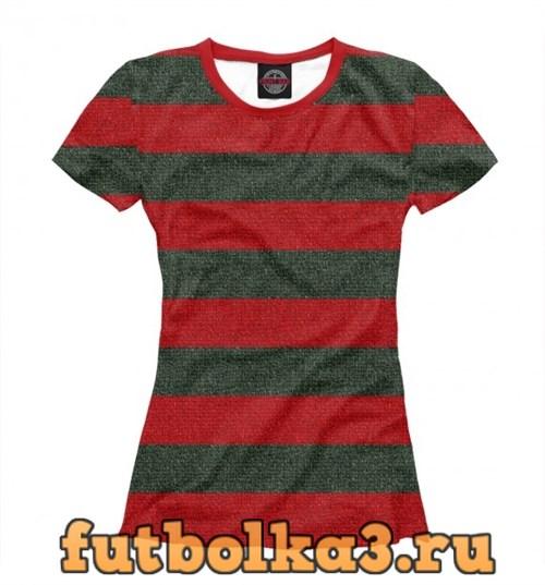 Футболка Freddy Krueger Uniform женская