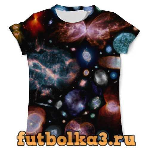 Футболка Галактический мир мужская