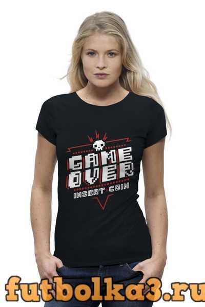 Футболка Game Over женская