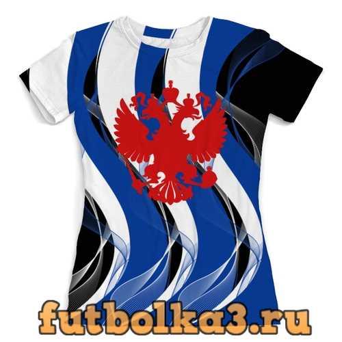 Футболка Герб России женская