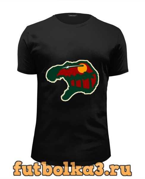 Футболка Голова Динозавра (Парк Юрского Периода) мужская