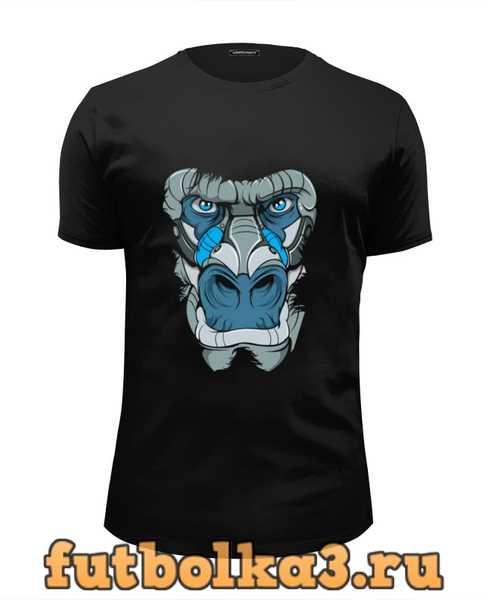 Футболка Голова гориллы мужская