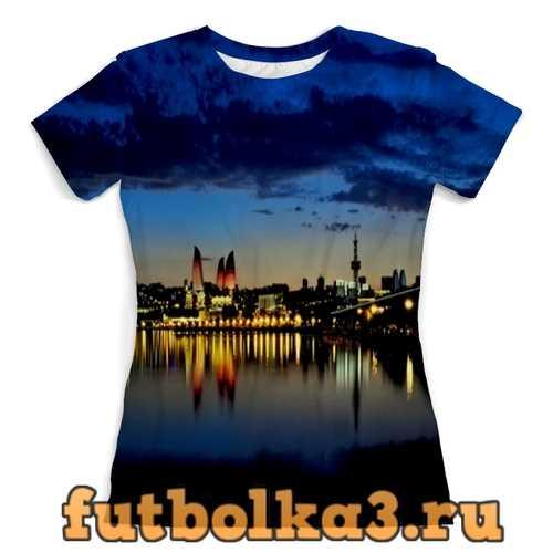 Футболка Город-Баку женская
