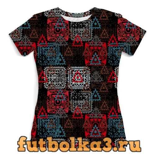 Футболка Графический орнамент женская