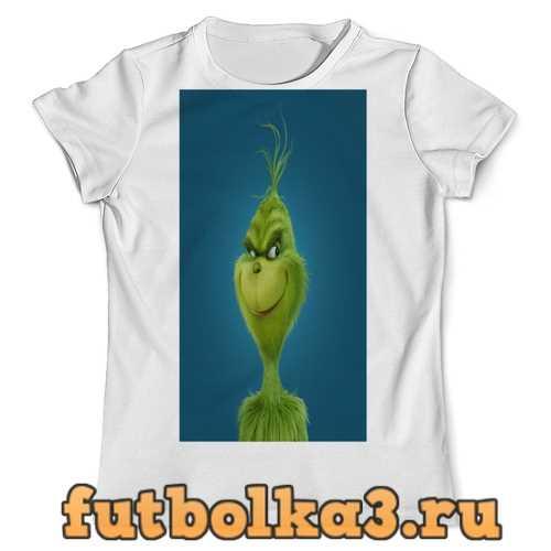 Футболка Гринч. мужская