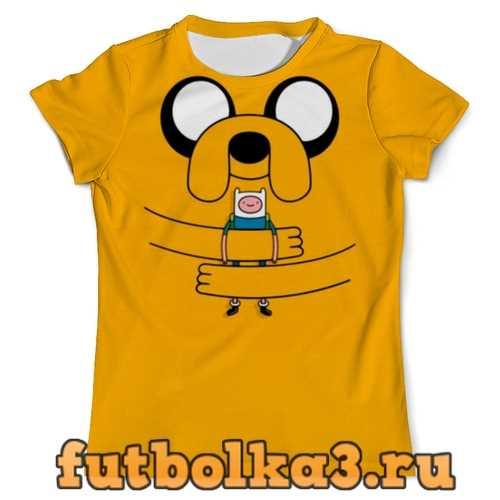 Футболка Грустная собачка мужская