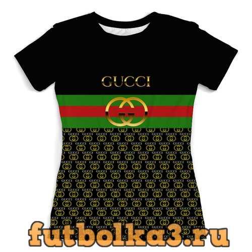 Футболка Gucci женская