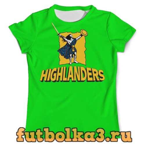 Футболка «Хайлендерс» регби мужская