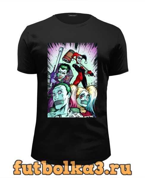 Футболка Harley Quinn and Joker мужская