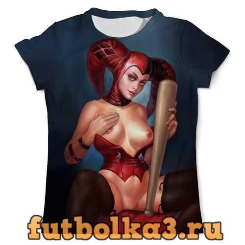 Футболка Harley Quinn Nude мужская