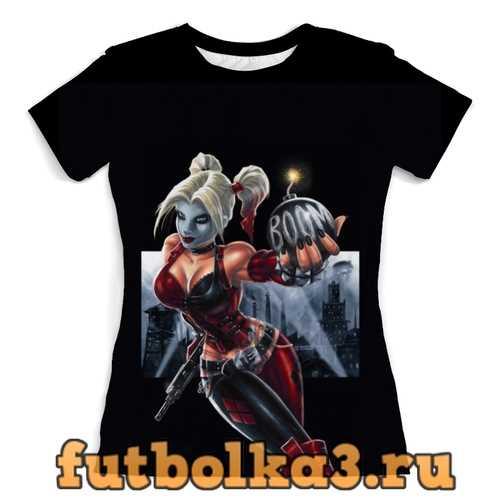 Футболка Harley Quinn женская