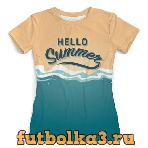 Футболка Hello Summer женская