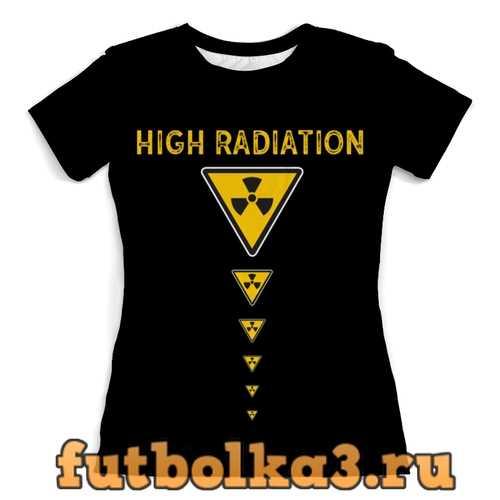 Футболка High Radiation женская