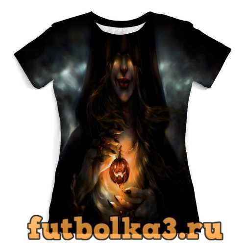 Футболка Хэллоуин женская