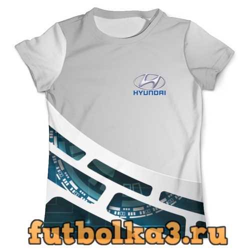Футболка Hyundai мужская