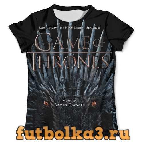 Футболка ИГРА ПРЕСТОЛОВ / GAME OF THRONES мужская
