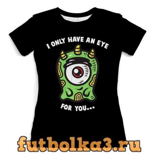 Футболка Инопланетянин женская