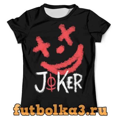 Футболка Joker 1 - красный дым мужская