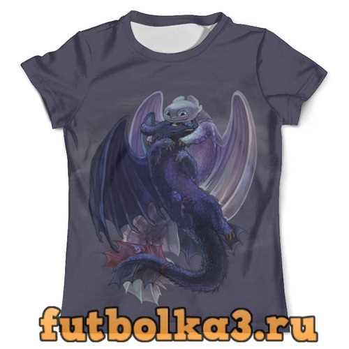 Футболка Как приручить дракона мужская