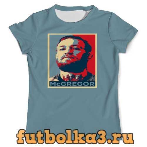 Футболка Конор МакГрегор мужская