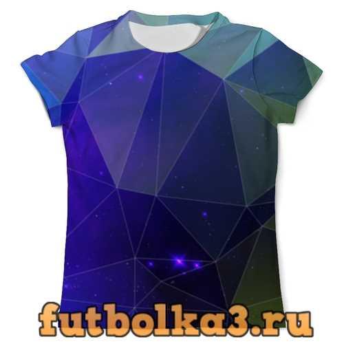 Футболка Космический треугольник мужская