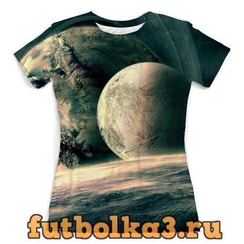Футболка Космическое путешествие женская