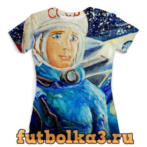Футболка Космос СССР женская