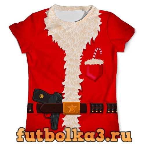 Футболка Костюм Санта Клауса мужская