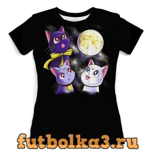 Футболка Котики женская