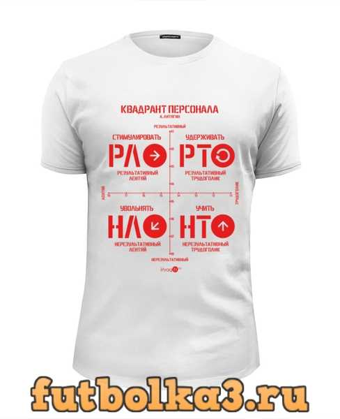 Футболка Квадрант Персонала ( А. Литягин) мужская