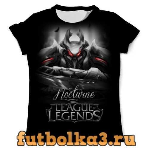 Футболка League of Legends. Ноктюрн мужская