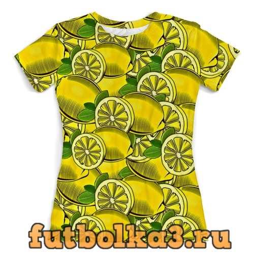 Футболка Лимон женская