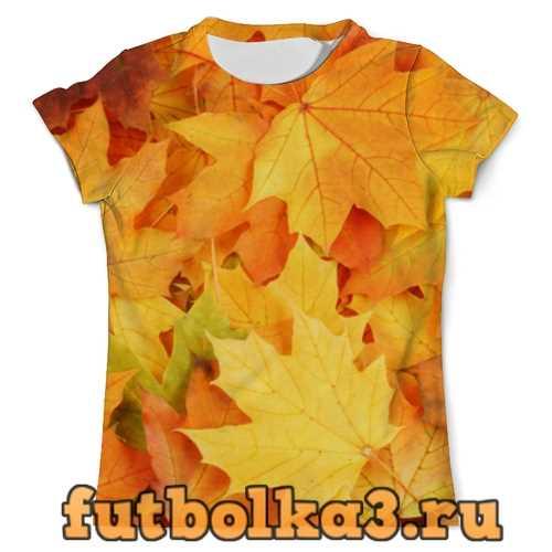 Футболка Листья-осень мужская