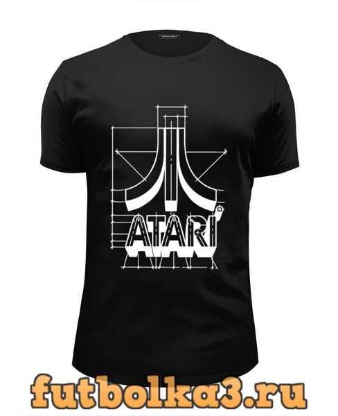 Футболка Логотип АТАРИ - ATARI logo мужская