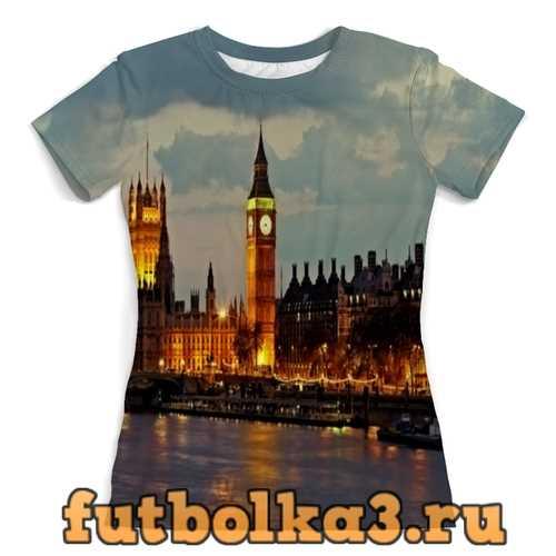 Футболка London женская