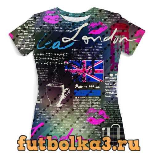 Футболка Лондон женская