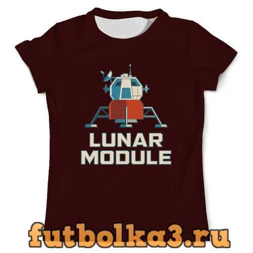 Футболка Лунный модуль мужская
