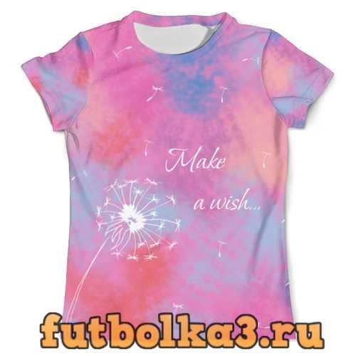 Футболка Make a wish! мужская