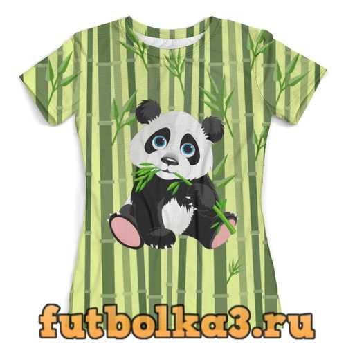 Футболка Маленькая панда (1) женская