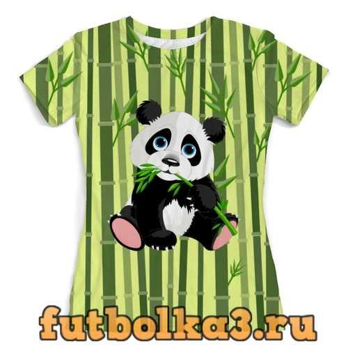 Футболка Маленькая панда женская